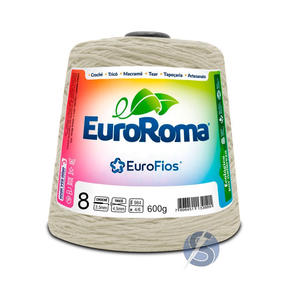 Barbante EuroRoma nº8 Cru