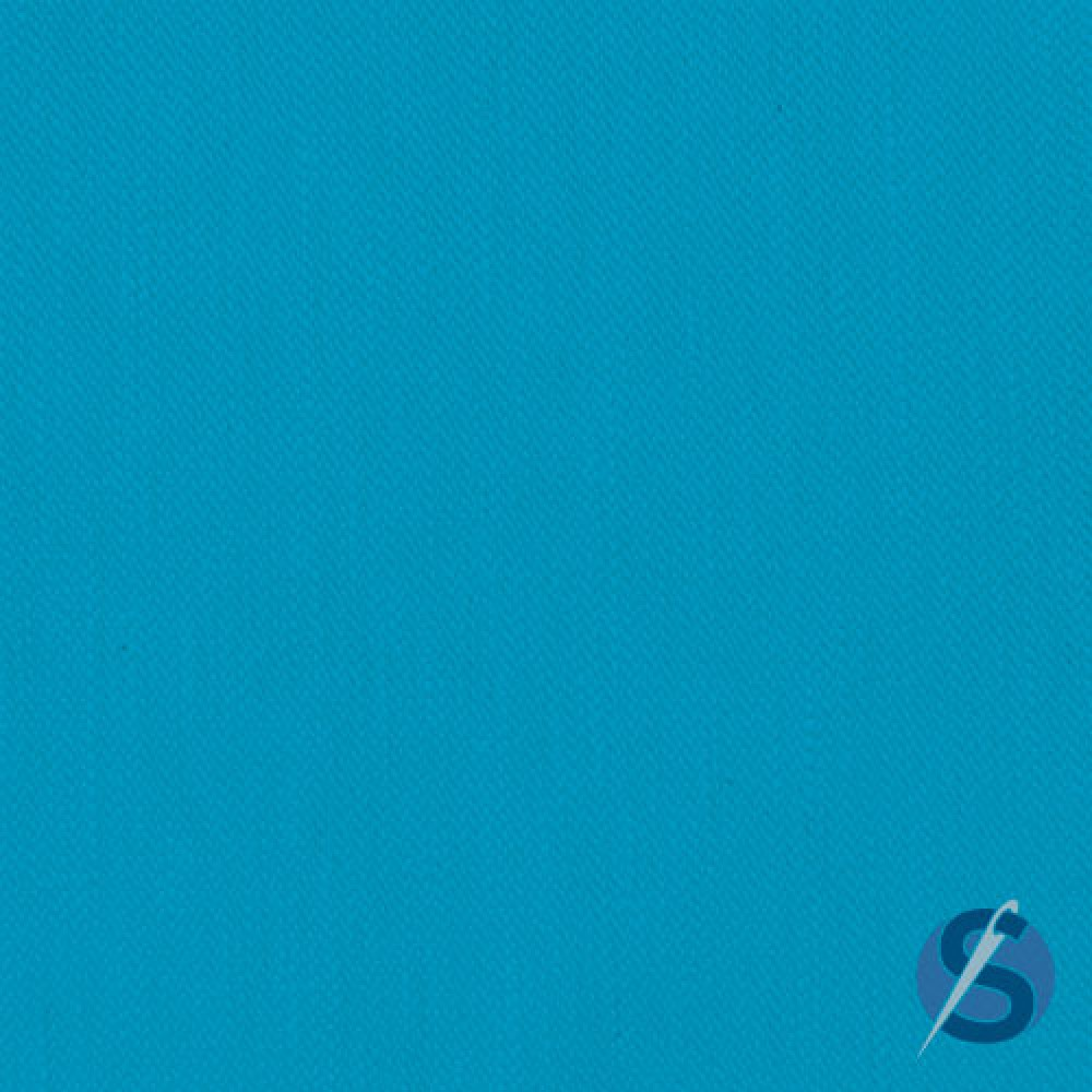 Tecido Tricoline Azul Piscina