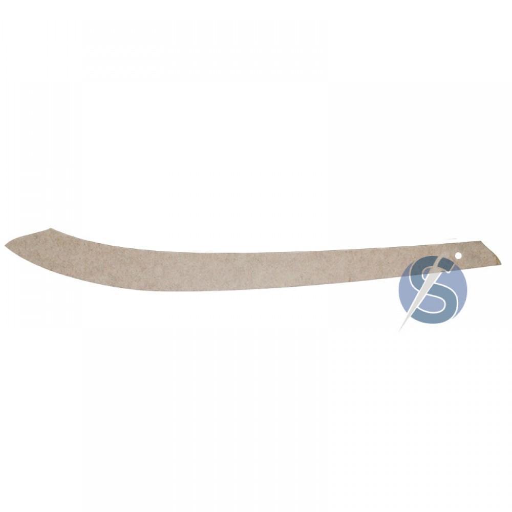 Régua de Alfaiate para costura curva MDF - 59cm