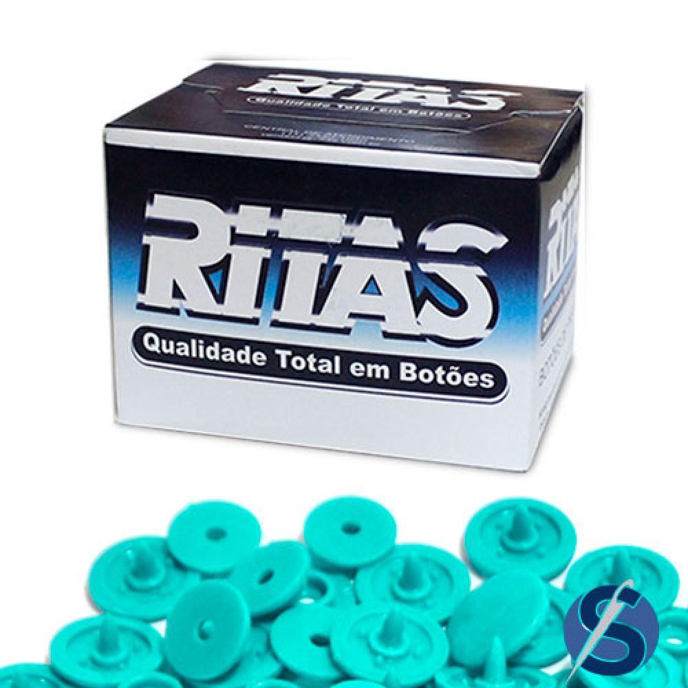 Botão Ritas Pressão Plástico Tic Tac nº15 - Caixa com 200 unidades