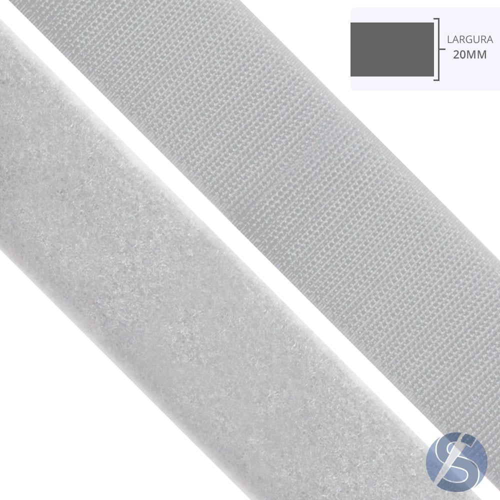 Velcro Branco 20mm
