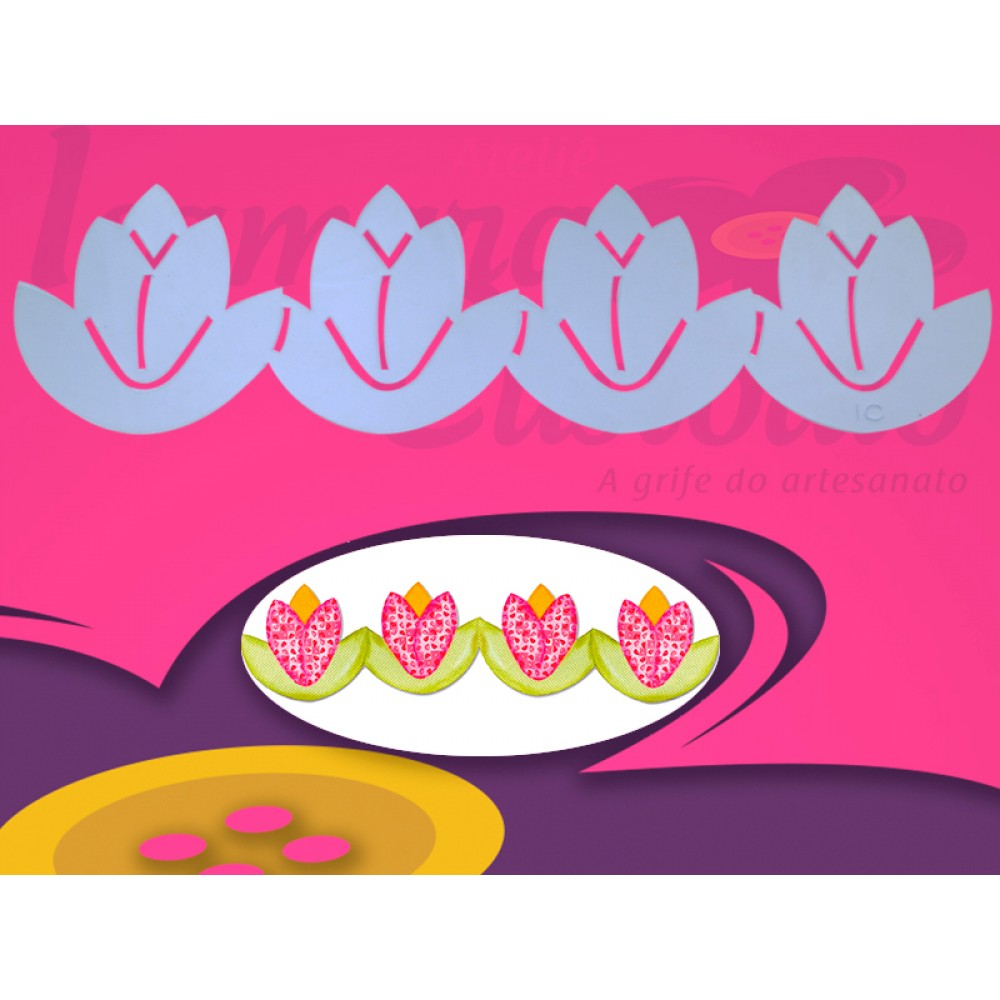Régua para Barrado Tulipa