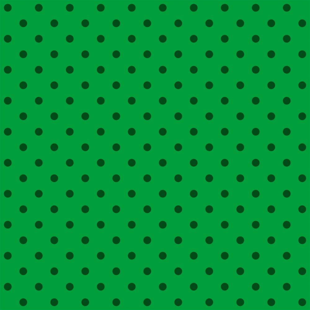 Tecido Tricoline Verde Poá Médio