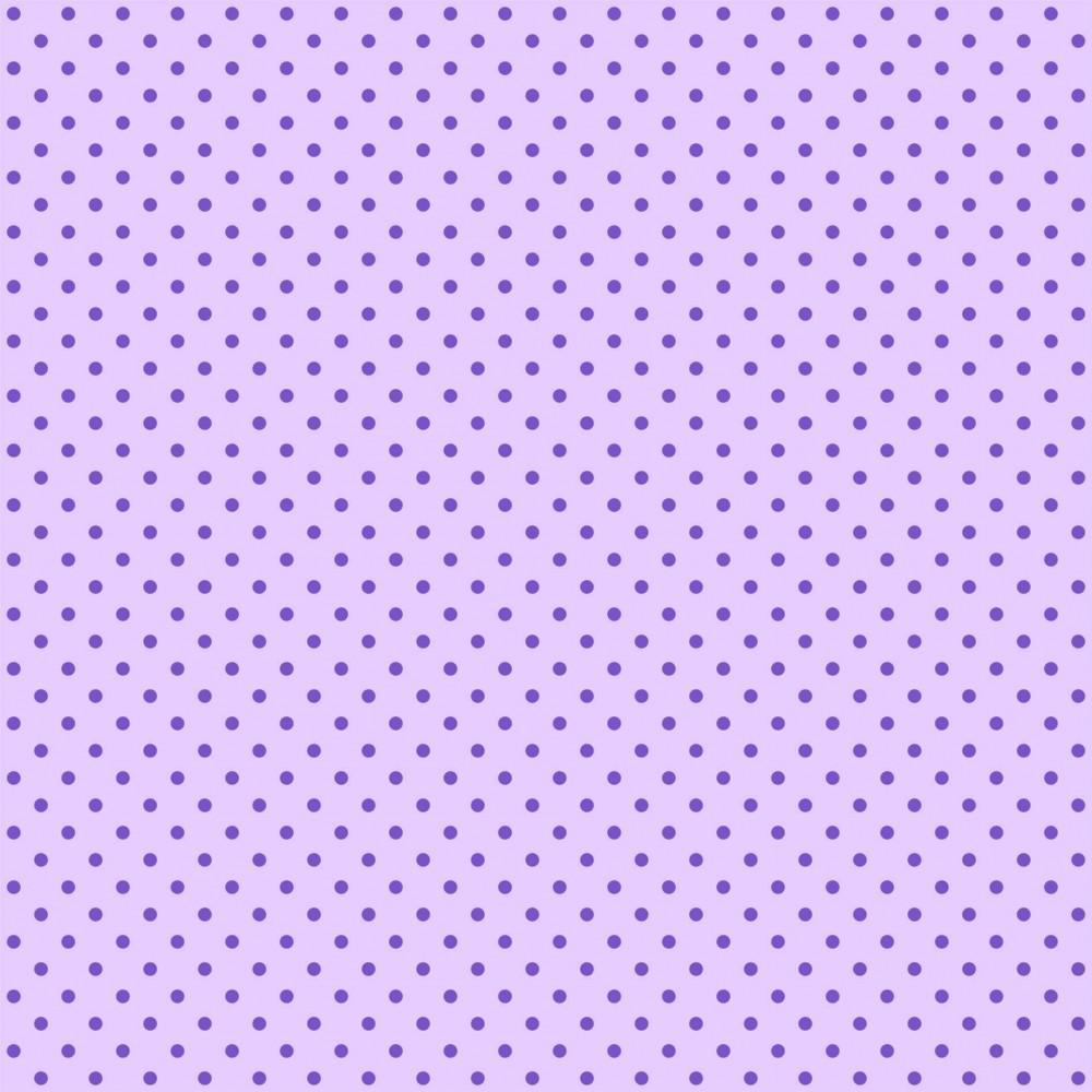 Tecido Tricoline Lilás Poá Pequeno Roxo