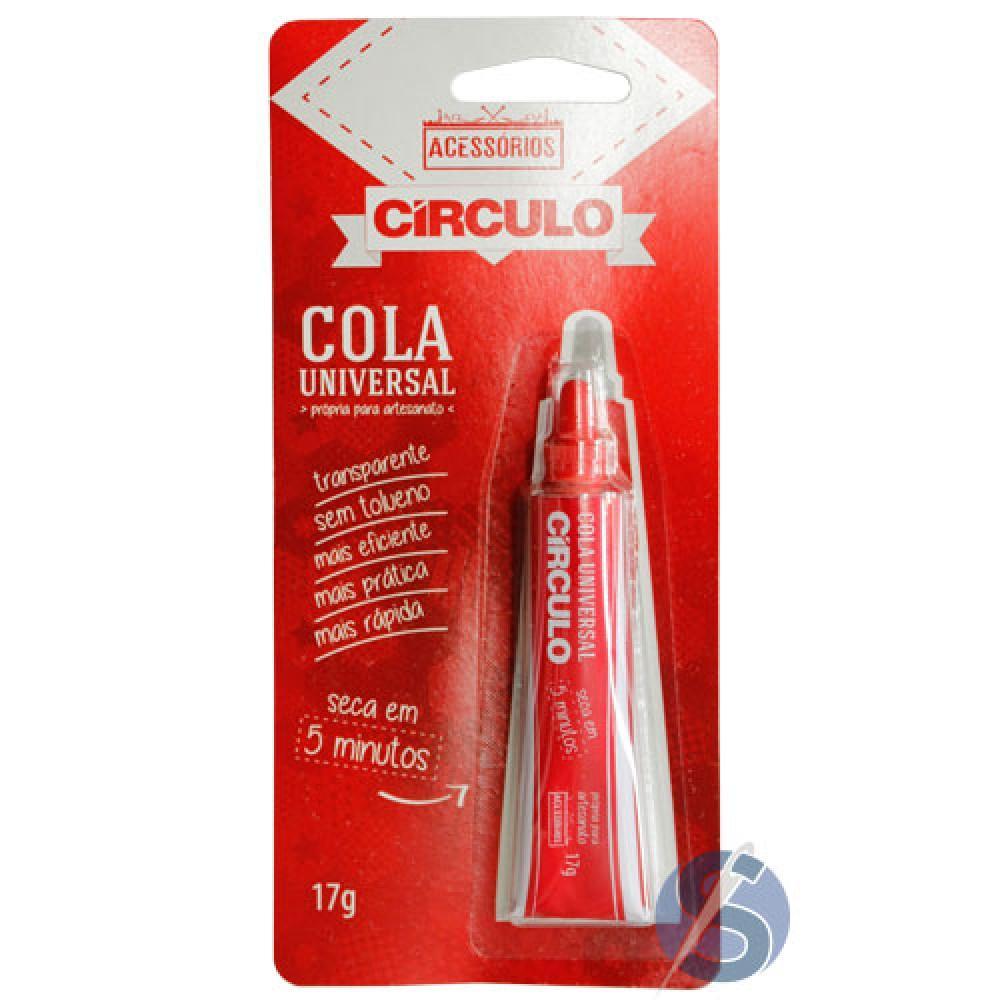 Cola Universal Círculo para artesanato Caixa com 12 unidades