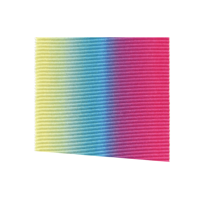 Fita Gorgurão Multicolor Arco Íris