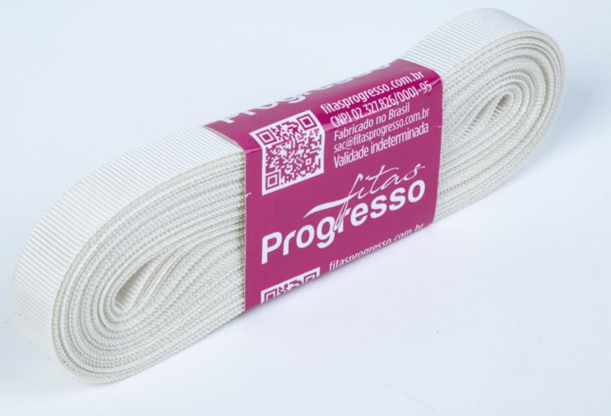 Fita Gorgurão Progresso Palha 11mm