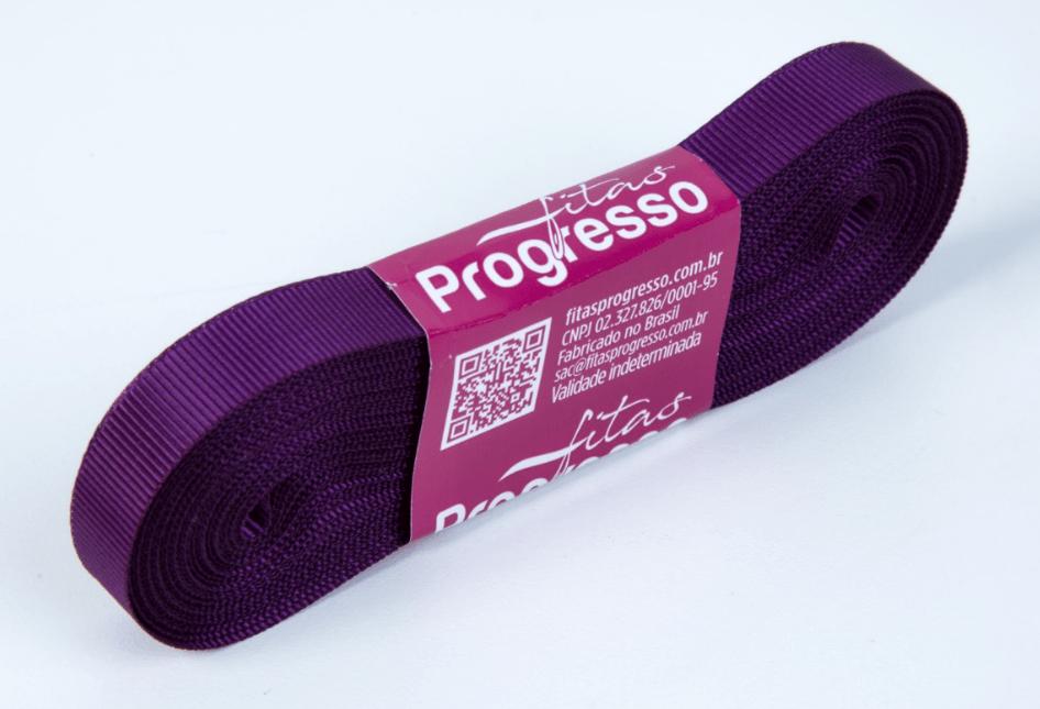 Fita Gorgurão Progresso Violeta 11mm