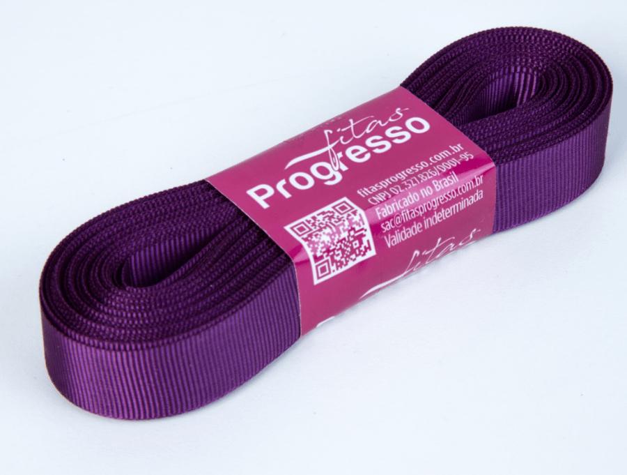 Fita Gorgurão Progresso Violeta 15mm