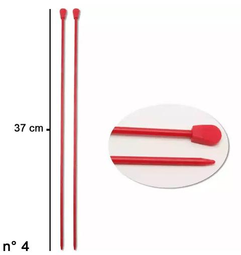Agulha Tricô Coats Corrente 4mm