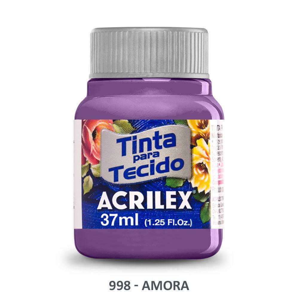 Tinta Acrilex para Tecido Fosca 998 Amora 37ml