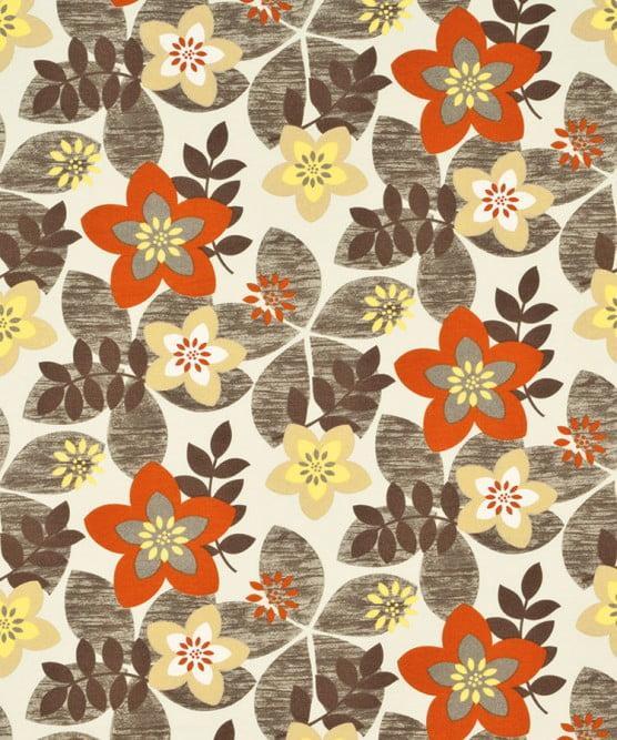 Tecido Impermeável Belize Bege Floral
