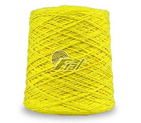 Barbante Fial Amarelo Fluorecente nº6 700g