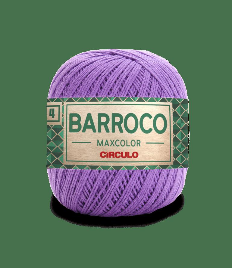 Barbante Barroco Maxcolor nº4 6394 Lavanda 200gr