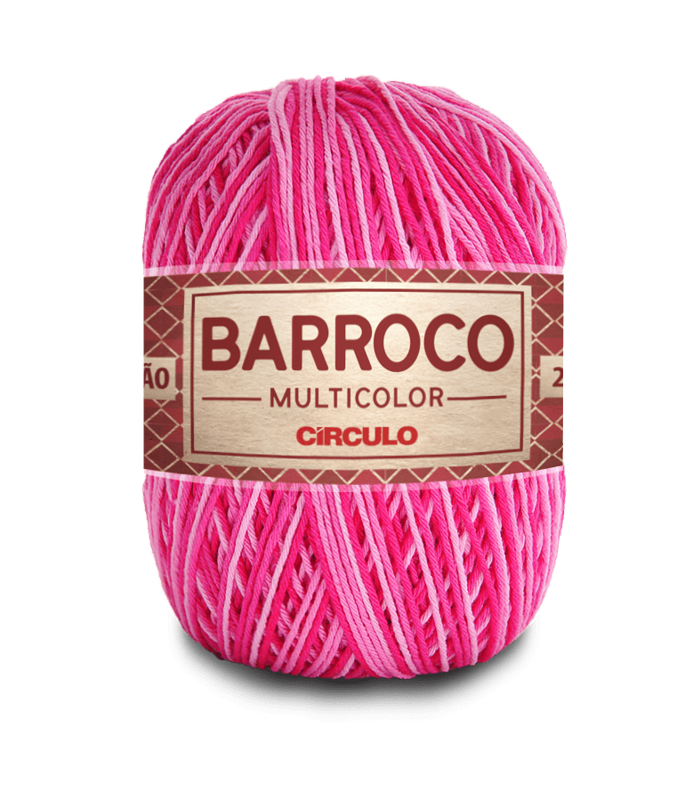 Barbante Barroco Multicolor nº6 9427 Flor 400g