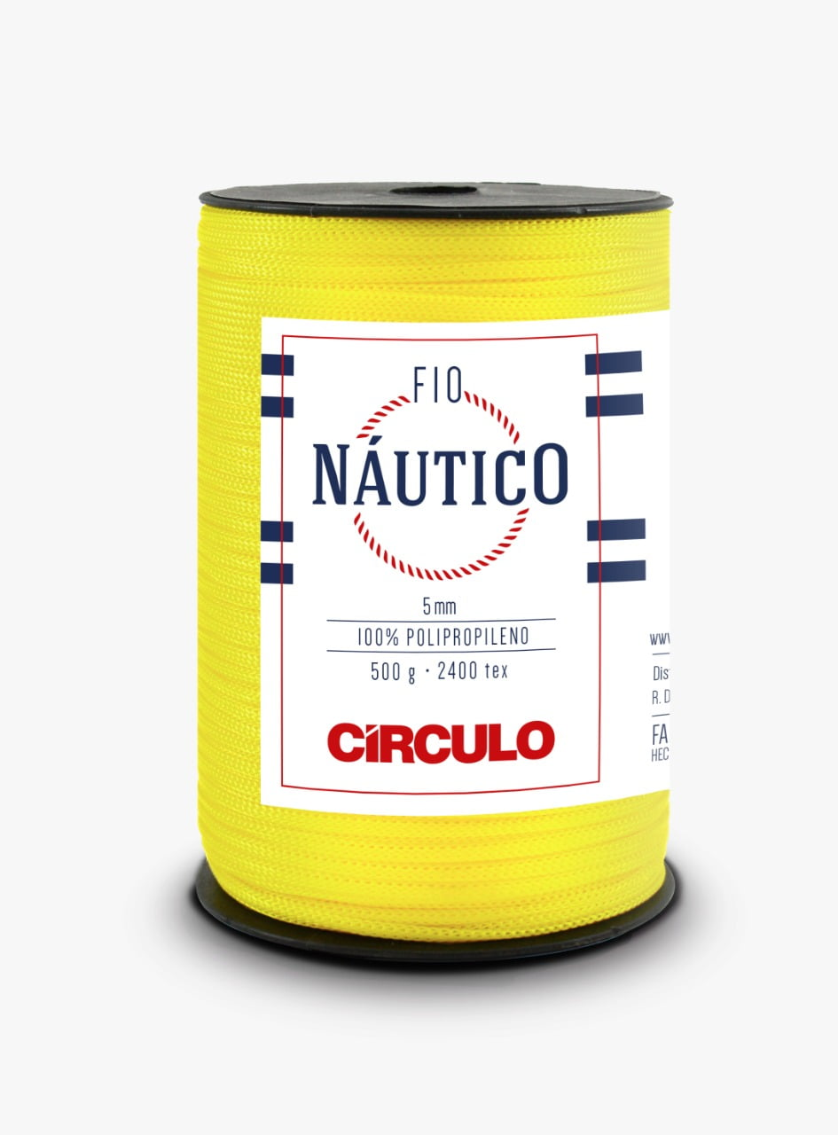 Fio Náutico 1289 Amarelo Canário 500 Gr