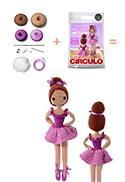 boneca fofa de bailarina, feita de crochê. | Bonecas de crochê ... | 182x125