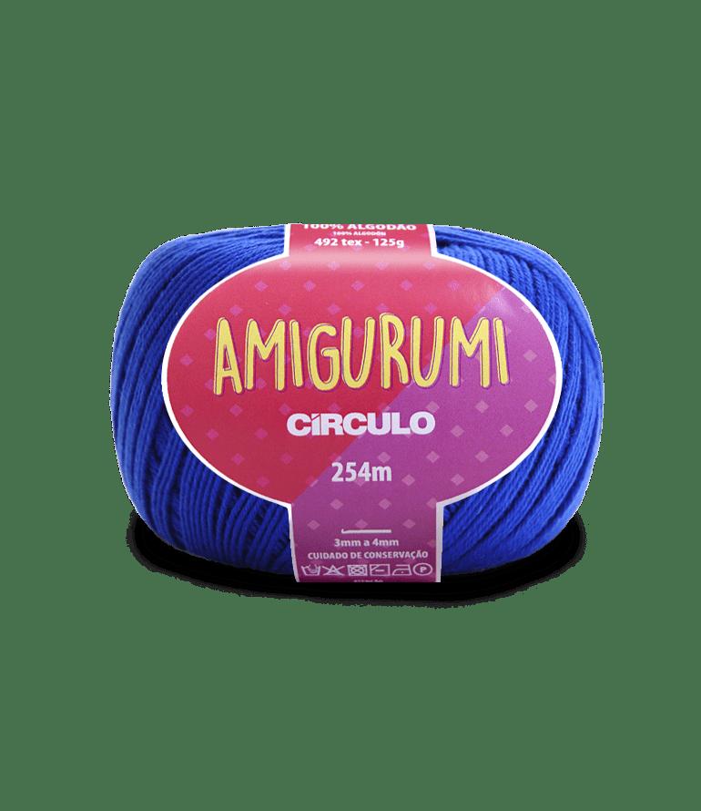 Linha Amigurumi 2829 Azul Bic 254m