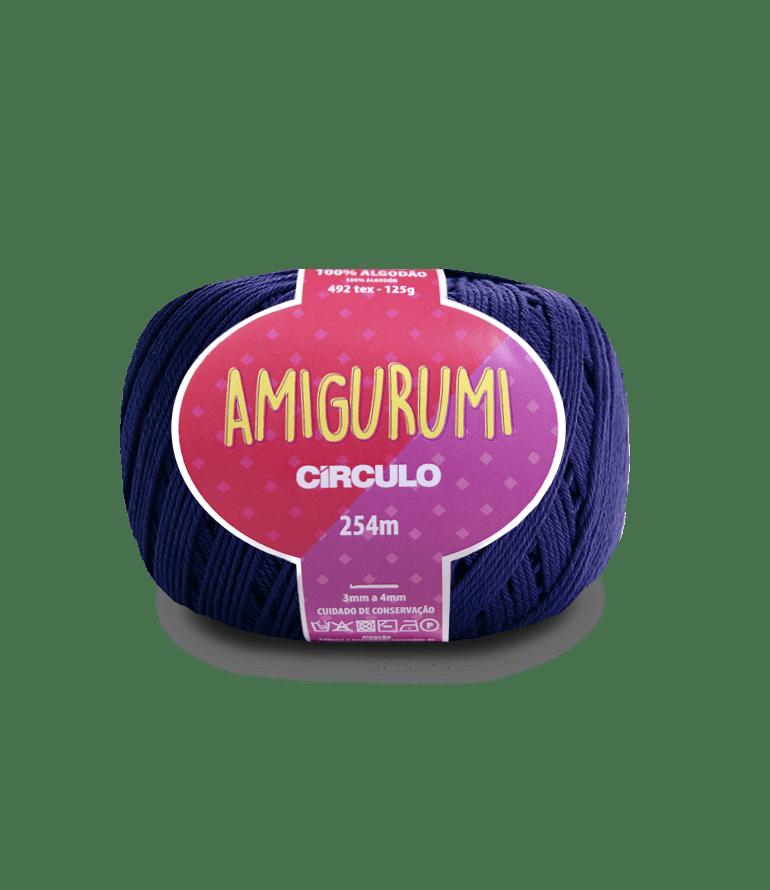 Linha Amigurumi 2856 Anil Profundo 254m