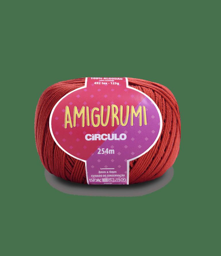 Linha Amigurumi 3583 Cereja 254m