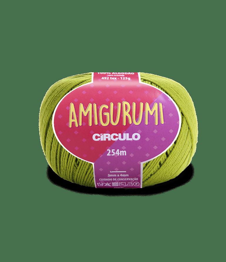 Linha Amigurumi 5800 Pistache 254m