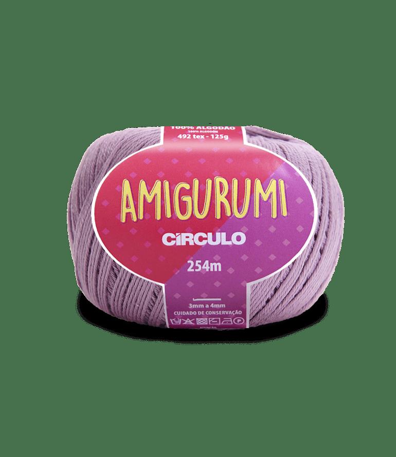 Linha Amigurumi 6802 Malva 254m