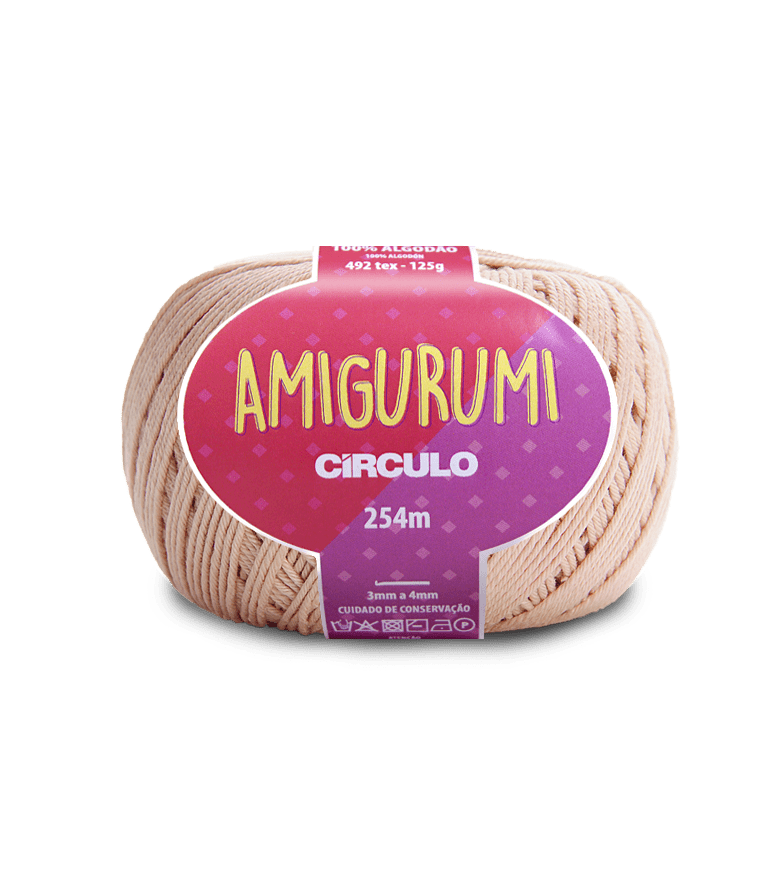 Linha Amigurumi 7563 Chantily 254m