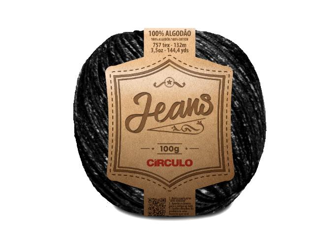 Linha Jeans Preto 8738 132m