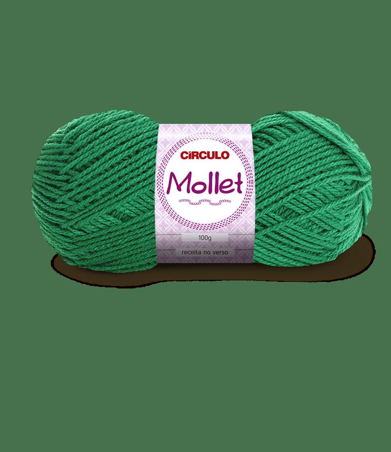 Lã Mollet 5545 Bandeira 40gr