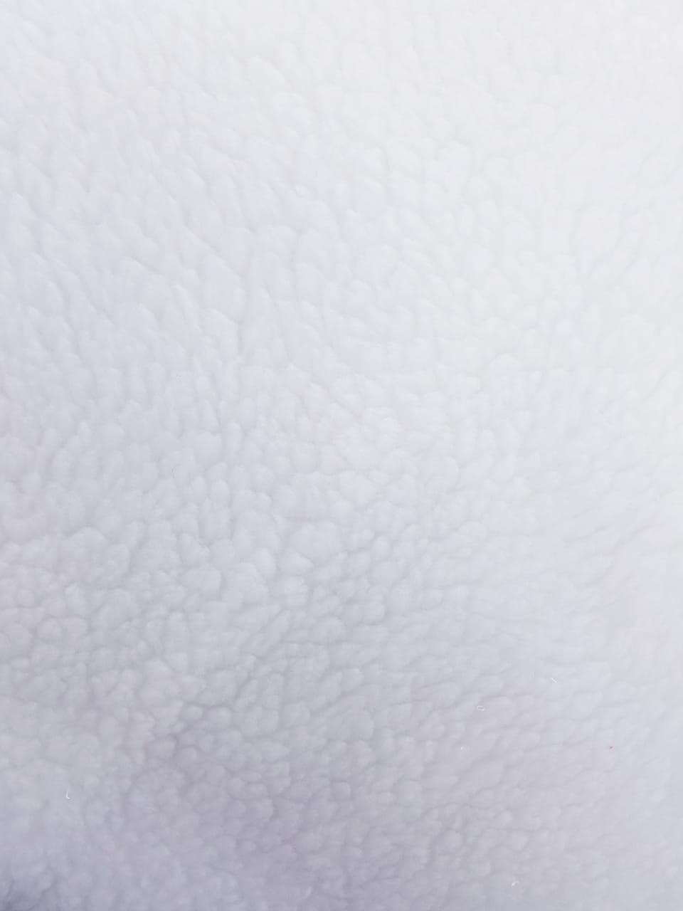 Tecido Carapinha Branco