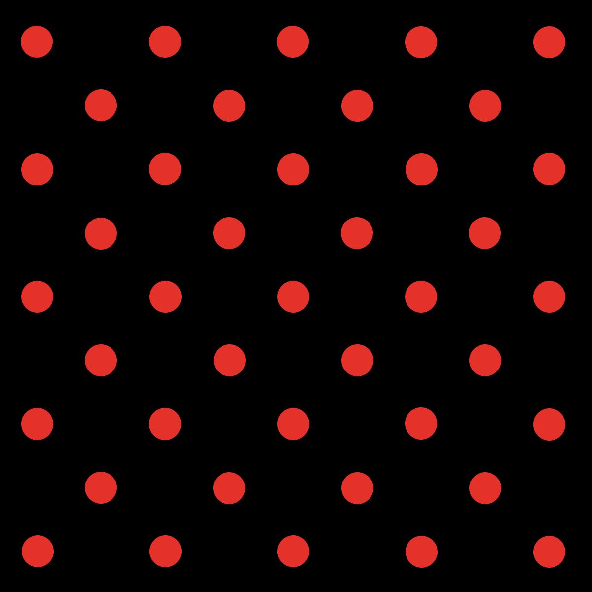 Tecido Tricoline Preto Poá Médio Vermelho