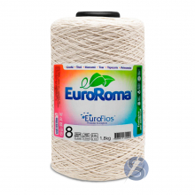 Barbante EuroRoma nº8 Cru 1.8kg