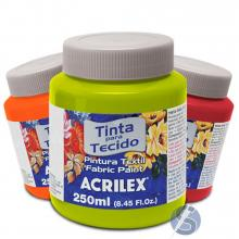 Tinta para Tecido Acrilex Fosca 250ml