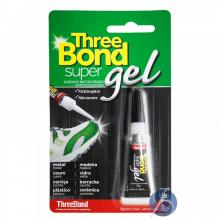 Cola Three Bond Super Gel 3 gramas