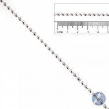 Aljofre 3mm Metalizado