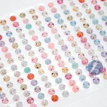 Cartela de Strass Adesivo Colorido - 5mm