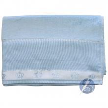 Toalha de Banho Dohler para Bordar - Azul
