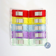 Clips Prendedores para Costura Patchwork Quilting cores diversas 10 unidades pequeno