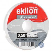 Linha de Nylon Pesca Ekilon Crystal 0,50mm 100m