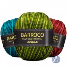 Barbante Barroco Multicolor Premium nº6 400g