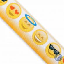 Fita de Cetim Emoji  35mm