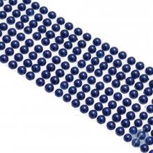 Cartela de Pérola Adesiva Azul - 4mm