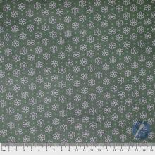 Tecido Tricoline Verde Margarida