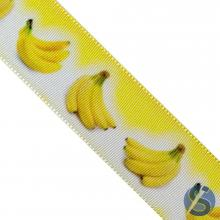 Fita de Gorgurão Banana Amarela 38 mm