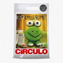Kit Amigurumi Círculo Sapo