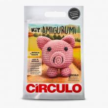 Kit Amigurumi Círculo Porco