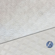 PVC Matelassado Cinza 0,50cm X 1,40cm