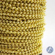 Aljofre 4mm Dourado