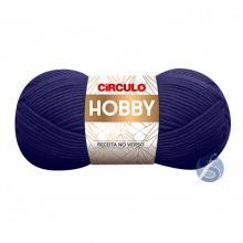Lã Hobby 512 Azul Bic 100g