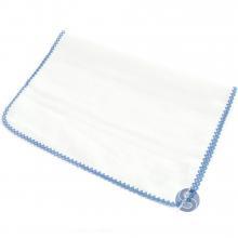 Fralda com Crochê Azul para Ponto Cruz